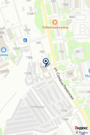 АВТОМОЙКА АВТОЦЕНТР-ЛАДА на карте Тобольска