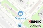 Схема проезда до компании Магнит в Тобольске