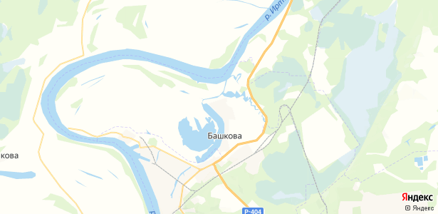 Ломаева на карте