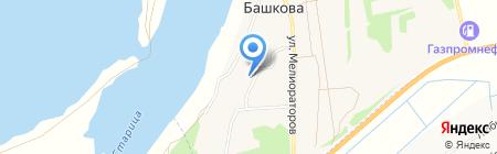 Башковская начальная общеобразовательная школа на карте Башковой