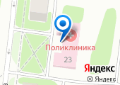 Городская поликлиника на карте