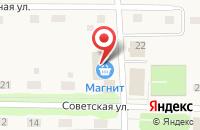 Схема проезда до компании Почтовое отделение в Прииртышском
