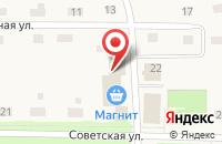 Схема проезда до компании Центральный в Прииртышском