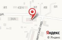 Схема проезда до компании Ягодка в Прииртышском