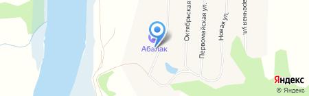 Башни Часозвонь-Свадебные на карте Абалака