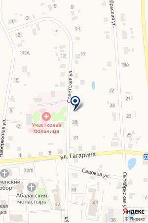 Администрация Абалакского сельского поселения на карте Абалака