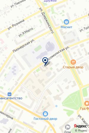МАГАЗИН АВТОПРИМОЧКА на карте Ханты-Мансийска