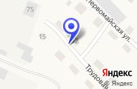 Схема проезда до компании БАНК СБЕРБАНК N 58/079 (ОПЕРАЦИОННАЯ КАССА) в Вагае