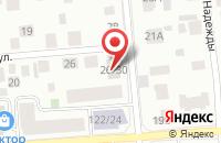 Схема проезда до компании Скайгео Нэт в Ханты-Мансийске