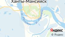 Отели города Самарово на карте