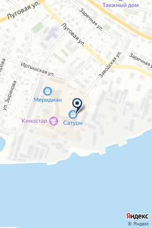 СТУДИЯ ДИЗАЙНА MADNORD (МЭДНОРД) на карте Ханты-Мансийска