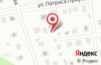 Схема проезда до компании Дантэя-Югра в Ханты-Мансийске