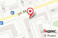 Схема проезда до компании Российский Союз Молодежи в Ханты-Мансийске