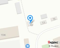 Схема местоположения почтового отделения 627429