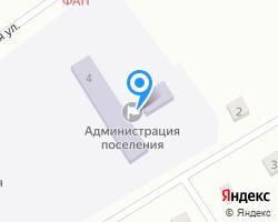 Схема местоположения почтового отделения 627424