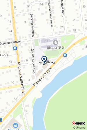 АВТОМАГАЗИН АВТОДОКТОР на карте Ишима