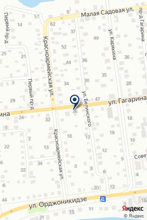 АДМИНИСТРАЦИЯ МО ГАГАРИНСКОЕ СЕЛЬСКОЕ ПОСЕЛЕНИЕ на карте Ишима