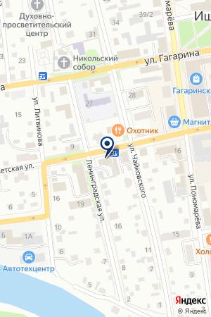 АДМИНИСТРАЦИЯ МО ВТОРОПЕСЬЯНОВСКОЕ СЕЛЬСКОЕ ПОСЕЛЕНИЕ на карте Ишима