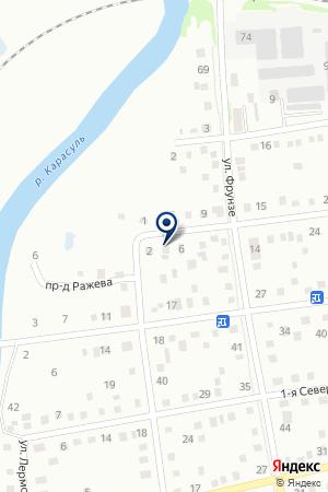 АВАНГАРД (СКЛАД) на карте Ишима