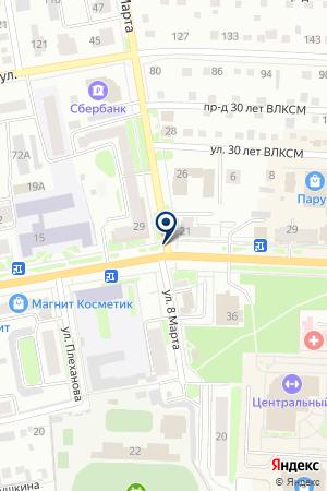 АЗС НЬЮ ПЕТРОЛ ТЮМЕНЬ на карте Ишима