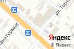Схема проезда до компании ЗАКИР 2 в Шымкенте