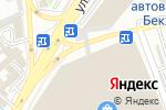 Схема проезда до компании АККУ ТРАВЕЛ в Шымкенте