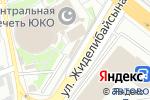 Схема проезда до компании Касса по продаже билетов в Шымкенте