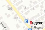 Схема проезда до компании Киоск по продаже фастфудной продукции в Шымкенте