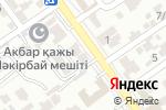 Схема проезда до компании SHER в Шымкенте