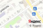Схема проезда до компании 999 в Шымкенте