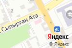 Схема проезда до компании Шымкентская городская поликлиника №6 в Шымкенте