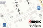 Схема проезда до компании ДАСТАН в Шымкенте