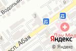 Схема проезда до компании Кукси в Шымкенте