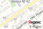 Схема проезда до компании Қайнар-авто в Шымкенте
