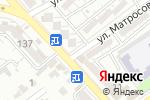 Схема проезда до компании ДОС в Шымкенте