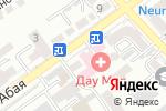 Схема проезда до компании Дау-Мед в Шымкенте