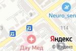 Схема проезда до компании Алиса в Шымкенте