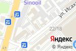 Схема проезда до компании Расул в Шымкенте