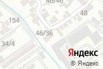 Схема проезда до компании Турсын-ай в Шымкенте