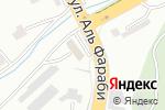 Схема проезда до компании Kuat electro в Шымкенте