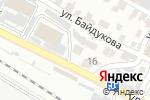 Схема проезда до компании Азамат в Шымкенте