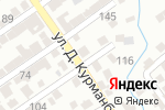 Схема проезда до компании Султан ата в Шымкенте