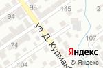 Схема проезда до компании Букмекерская контора в Шымкенте