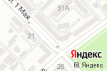 Схема проезда до компании Жалын в Шымкенте