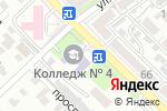 Схема проезда до компании Профессиональный колледж №4, ГККП в Шымкенте