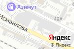 Схема проезда до компании Престиж Corporation в Шымкенте