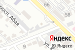 Схема проезда до компании Satti zhol в Шымкенте