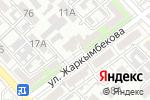 Схема проезда до компании Алан, ТОО в Шымкенте