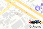 Схема проезда до компании Formula 7 в Шымкенте