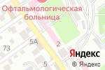 Схема проезда до компании Консультативно-диагностическая поликлиника в Шымкенте
